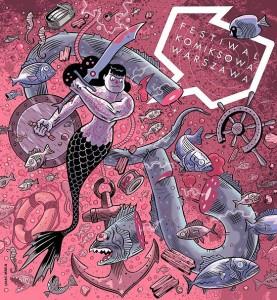 komiksowa warszawa plakat