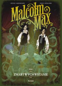 Malcolm Max 2 - cover - print