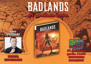 badlands centrum komiksu
