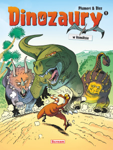 Dinozaury 1 - cover